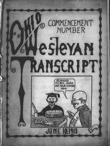 Illustration from 1913 Transcript