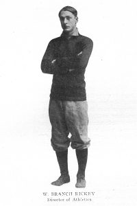 Athletic Director Branch Rickey, 1907 Le Bijou