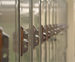 Lockers on Lower Level