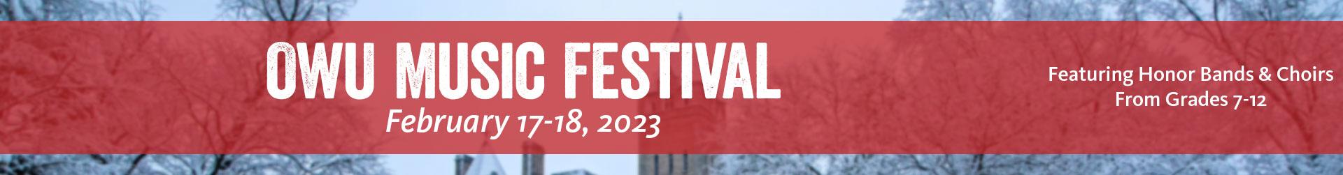 OWU Music Festival
