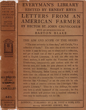 self interest as a beneficial goal in the book letters from an american farmer by j hector st john d The framers of the constitution advertisement: john blair mr blair is one of the most respectable daniel jenifer of st thomas mr jenifer is a gentleman of.